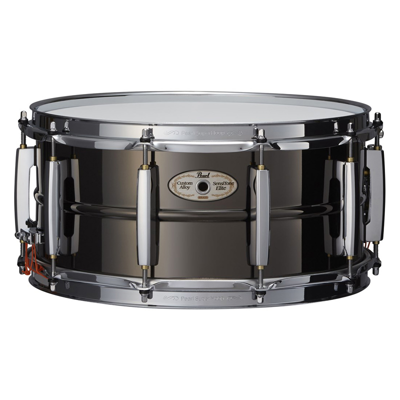 Pearl Brass STE1465BRN Nickel [SensiTone Elite Snare Edition~ Drum ~Limited Edition~/ 1mm Brass (Black Nickel Finish)]【限定品】, イツワマチ:acf08924 --- officewill.xsrv.jp