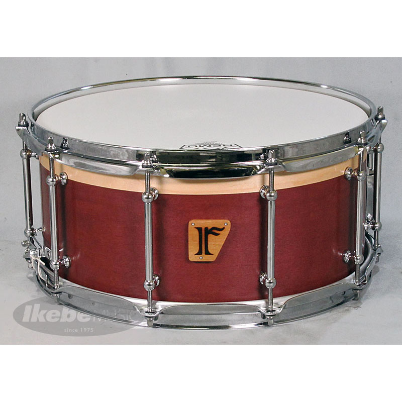 "riddim Custom. Maple 15ply 14""×6.5"" [Wine Red / Natural Maple (Outer), Natural Maple (Inner)] (Made in Japan) 【当店オーダーモデル!】"