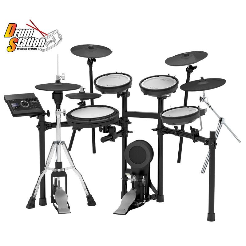 Roland TD-17KV-S-LE [Drum Station Limited Edition V-Drums Kit]【3シンバル + スプラッシュ!リアル・ハイハット仕様!】【ドラムステーション限定モデル】 ※キックペダル・ハイハットスタンド、別売り【ikbp5】