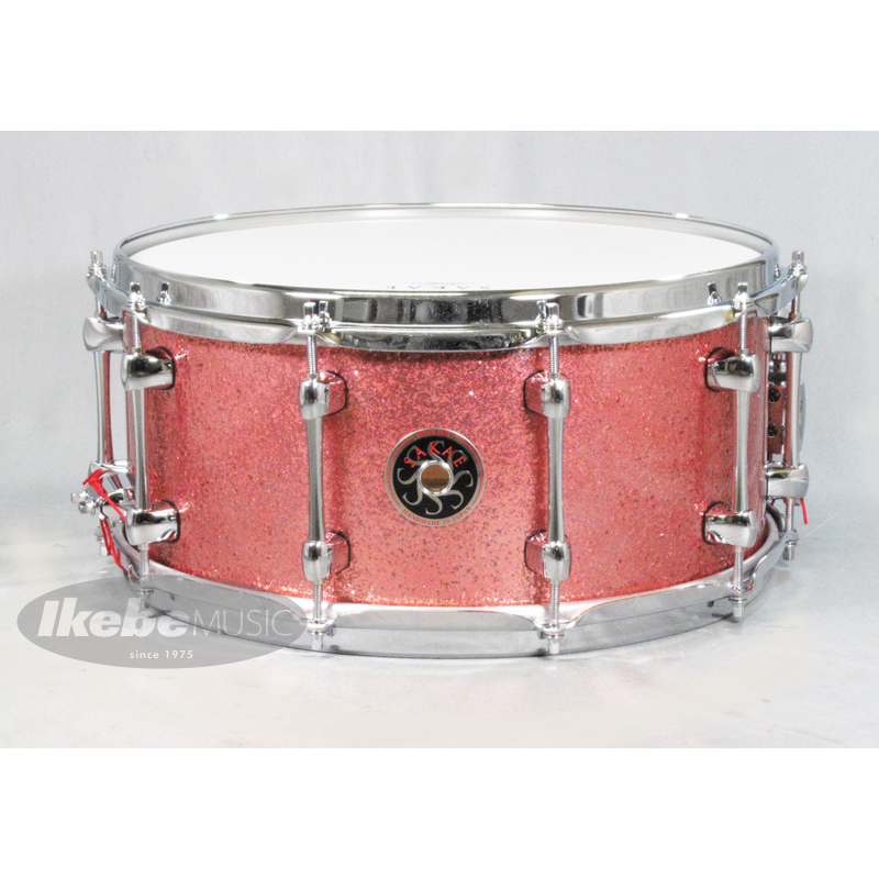 SAKAE DRUMS SD1465MA/MH Pink Champagne [Maple / Mighty Halo /14