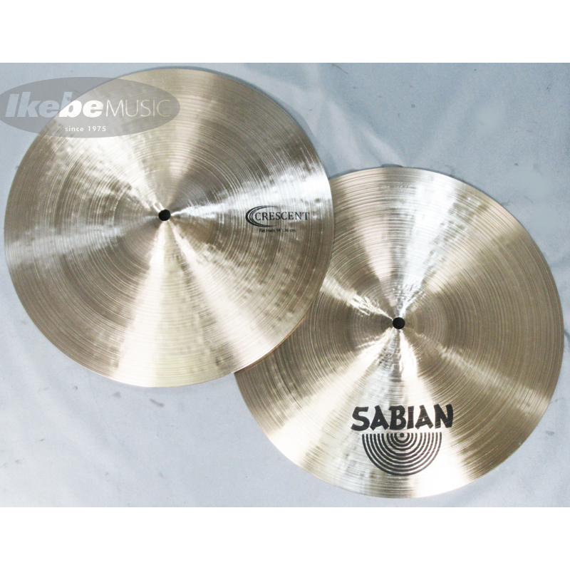 SABIAN CR-14FH [CRESCENT Fat Hats 14