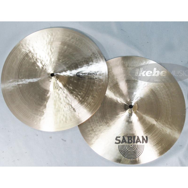 SABIAN [CRESCENT CR-14HH [CRESCENT Hammertone Hammertone Hats 14