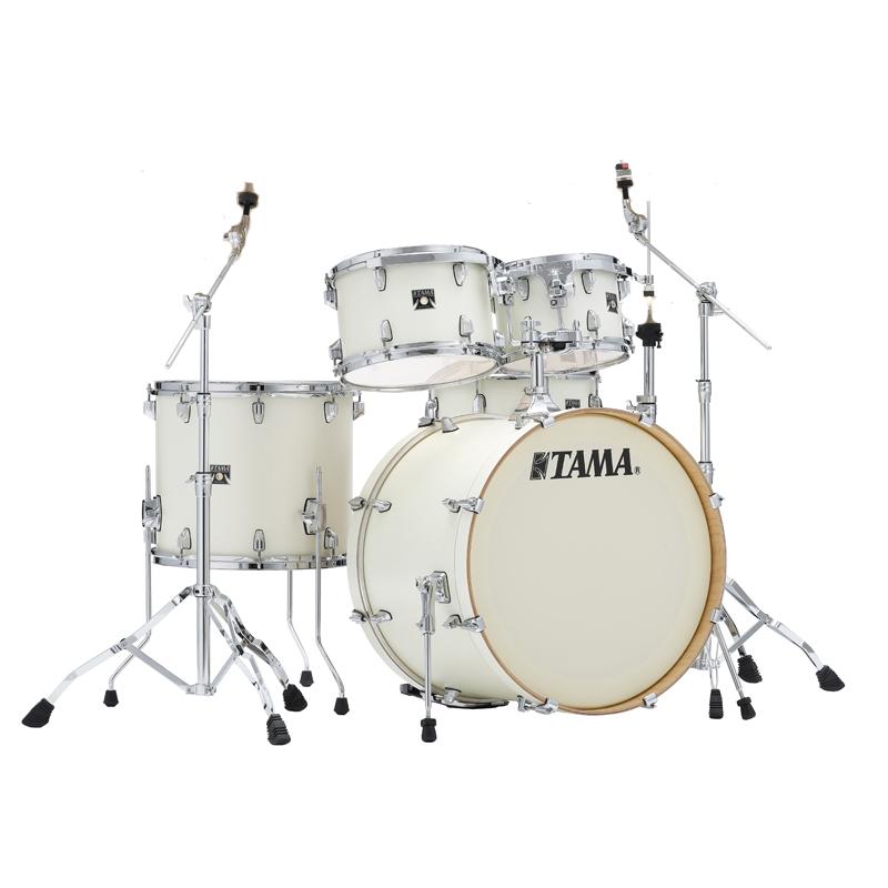 TAMA CL52KRM-SAP [Superstar Classic(All Satin Maple) CL52KRM-SAP/ [Superstar Satin Arctic Pearl:ハードウェアセット付 22