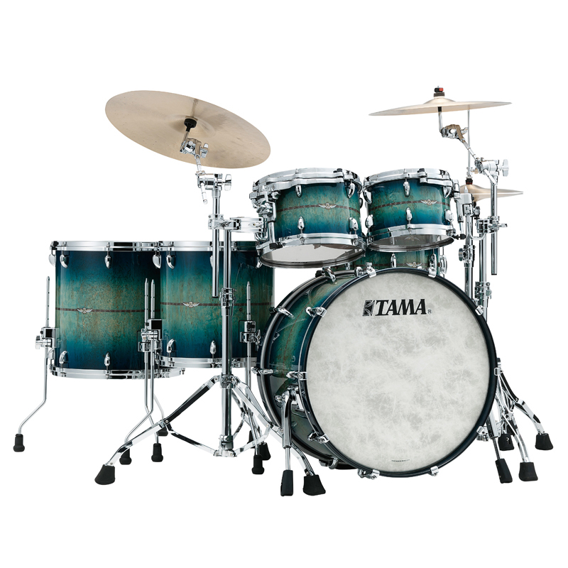 "【返品不可】 TAMA STAR BUBINGA Exotix - Limited Scandinavian Birch Drum + - ""Blue Viking"" Limited Drum Kit [TB52CZSSS-BVK + TBS1465SS-BVK]【全世界限定:30set】, ビレアル:38eaabcb --- dou42magadan.ru"