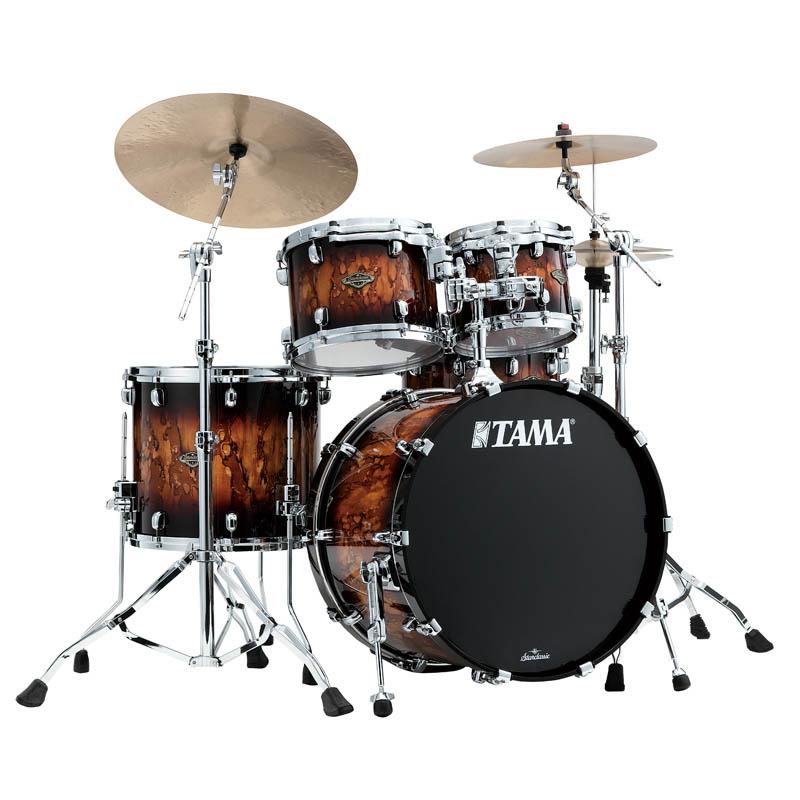 超特価SALE開催! TAMA WBS42S-MBR [Starclassic Walnut/Birch 4pc Set (22