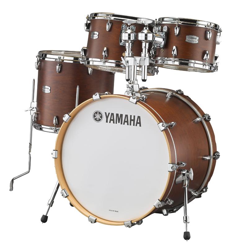 YAMAHA TMP0F4CHS [Tour Custom / All Maple Shell Drum Kit / BD20, FT14, TT12&10, ダブルタムホルダー付属/ チョコレートサテン]【箱開封特価品】