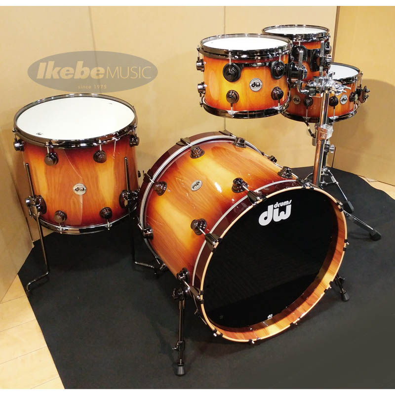 dw Collector's Series Pure Almond 5pc Kit [Natural To Toasted Almond Burst] 【限定生産モデル】