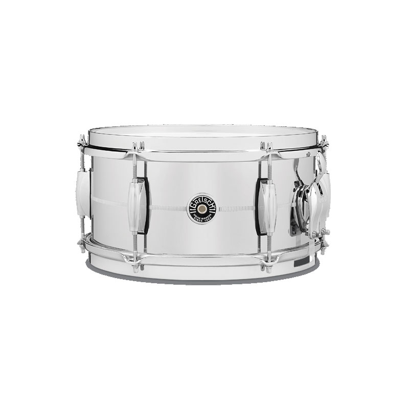 Gretsch GB-4162S [Brooklyn Snare Drum Metal Shell / Chrome Over Steel 12