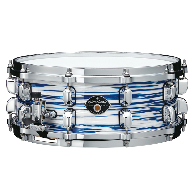 TAMA MGS455T-BWO Starclassic Maple 14 × 5.5 Blue & White Oyster Covering Finish Made in Japan 新年会 忘年会 敬老の日