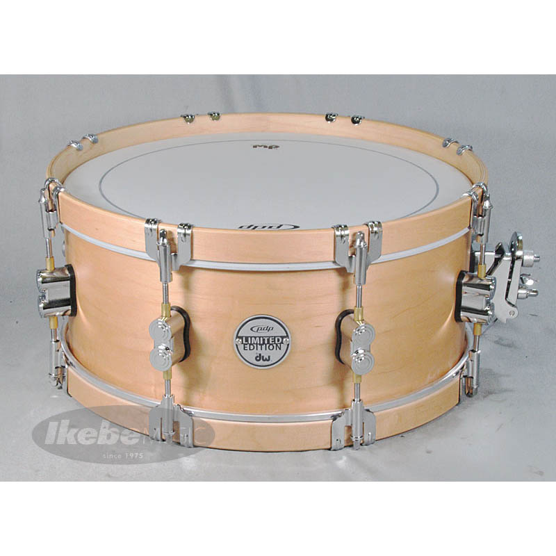 pdp by DW PA-SX-0614CLWH [Concept Series Limited Edition / Classic Wood Hoop Maple Snare 14