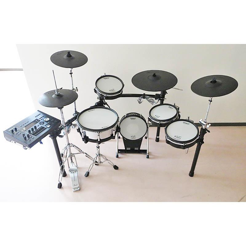 Roland TD-50K with KD-120BK & MDS-50K [V-Drums Kit + V-Kick + Drum Stand] 【USED】 【美品中古】