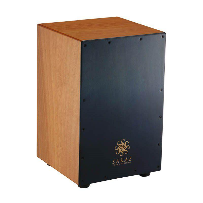 カホン パーカッション SAKAE 予約販売 OSAKA HERITAGE CAJ-100-BLFD Multi-type Combination Cajon お取り寄せ品 期間限定特別価格 Blue Color