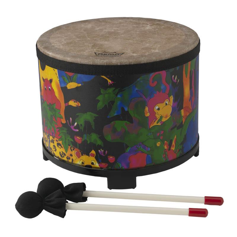まとめ買い特価 パーカッション REMO キッズフロアタム Kids Floor キッズにもおすすめ Percussion Tom LREMKD508001 正規取扱店