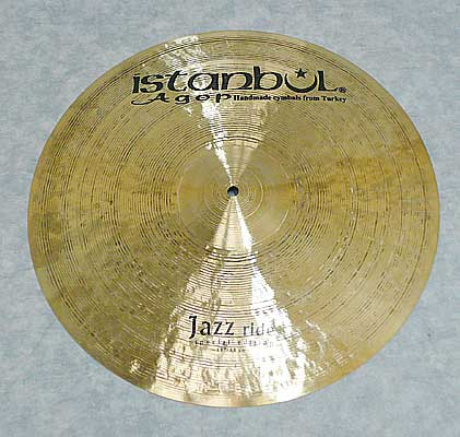 Istanbul Agop Special Edition Series Jazz Ride 19