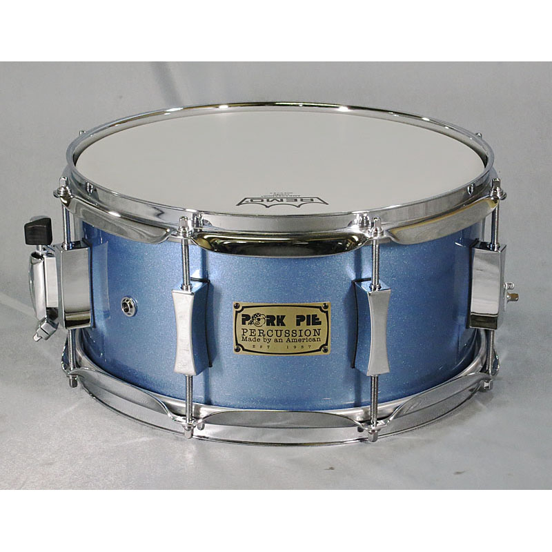 "PORK PIE USA Custom Maple 8Ply 12""×6"" [Porcaro Blue Hi-Gloss] 【当店オーダーモデル、即納可能!】"