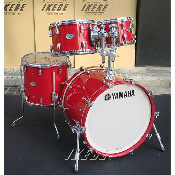 YAMAHA Absolute Hybrid Maple 4pc Drum Set 【BD22、FT16、TT12&10 / カラー:RAU】【店頭展示チョイキズ特価品】