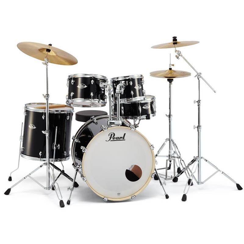 Pearl EXX725S/C 【バスドラム・マフラー(ミュート)付属】【教則DVDプレゼント!】【お取り寄せ品】