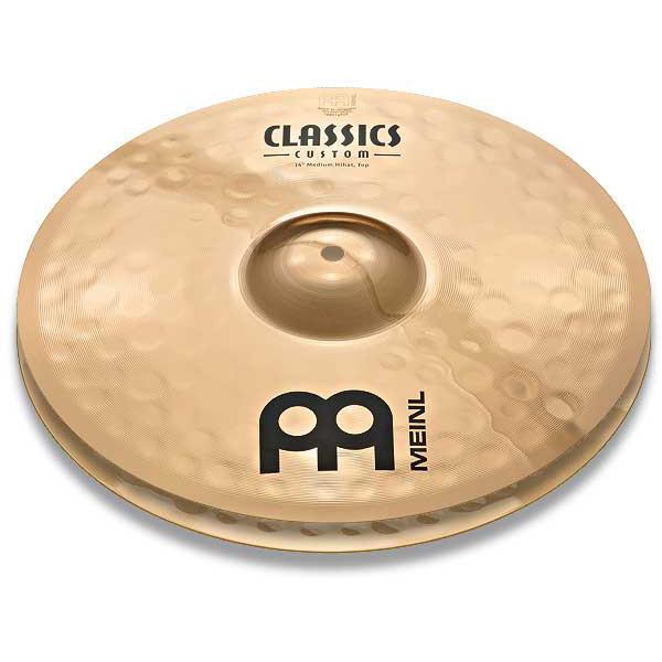 MEINL Hihat CC14MH-B Custom/Medium [Classics Custom 14