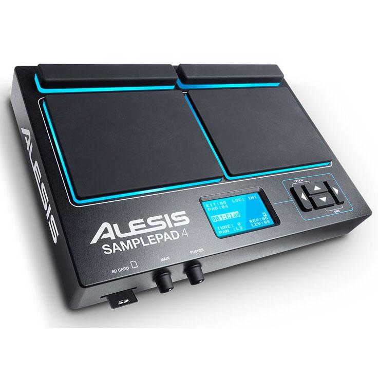 ALESIS SamplePad 4 [4-Pad Professional Drum Pad]