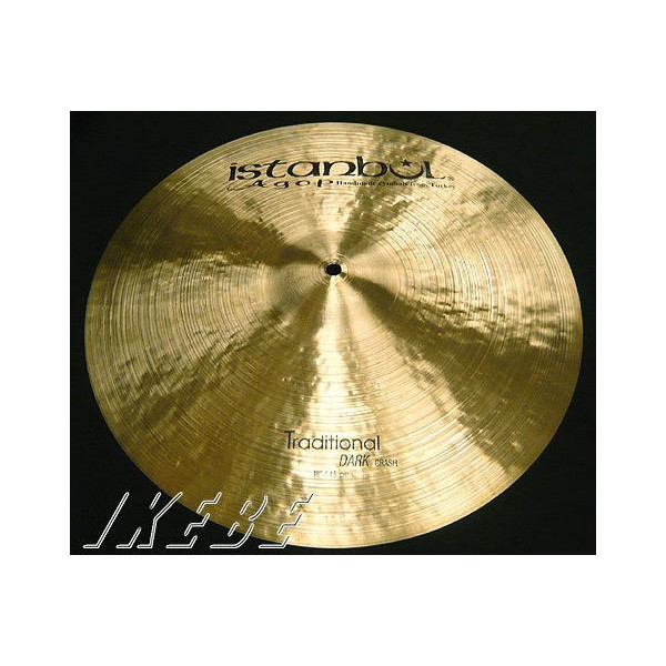 Istanbul Agop Traditional Series Dark Crash 18