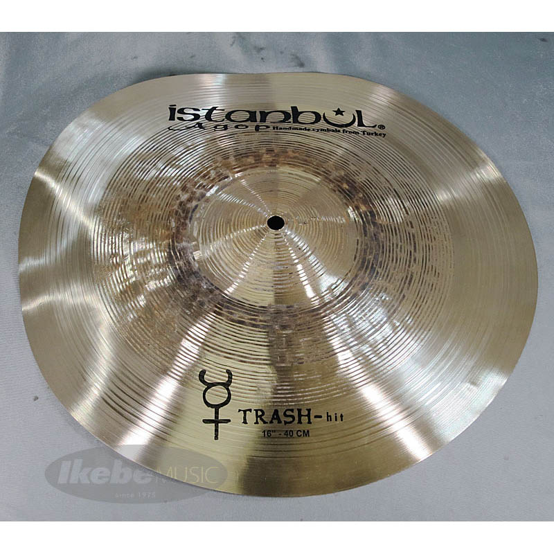 "Istanbul Agop Traditional Series Trash-hit 16"" [816g] 【輸入代理店選定品】"