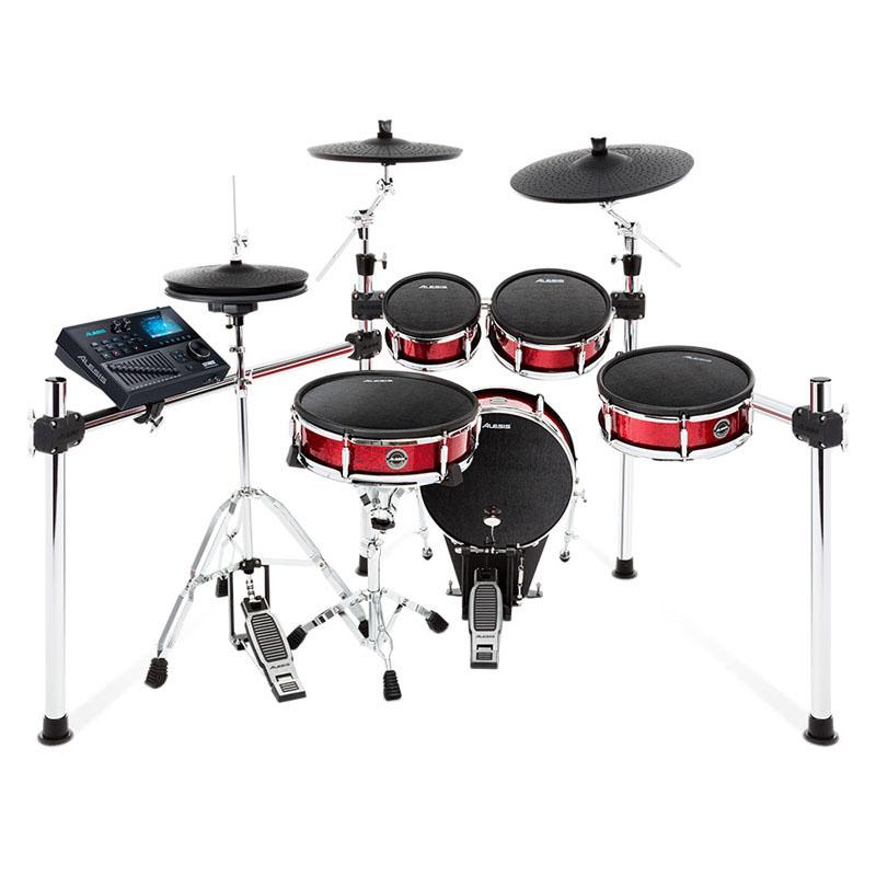 ALESIS Strike Kit [Eight-Piece Professional Electronic Drum Kit with Mesh Heads] ※ドラムペダル、ハイハット・スタンド別売 【ikbp5】