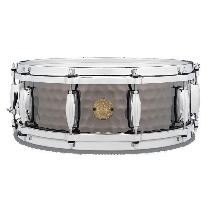 Gretsch S1-0514-BSH [Hammerd Black Steel Snare] 【NAMM2017】