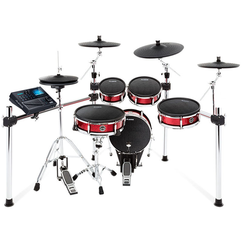 ALESIS Strike Kit 3 Cymbals Set Up ※ドラムペダル、ハイハット・スタンド別売 【ikbp5】