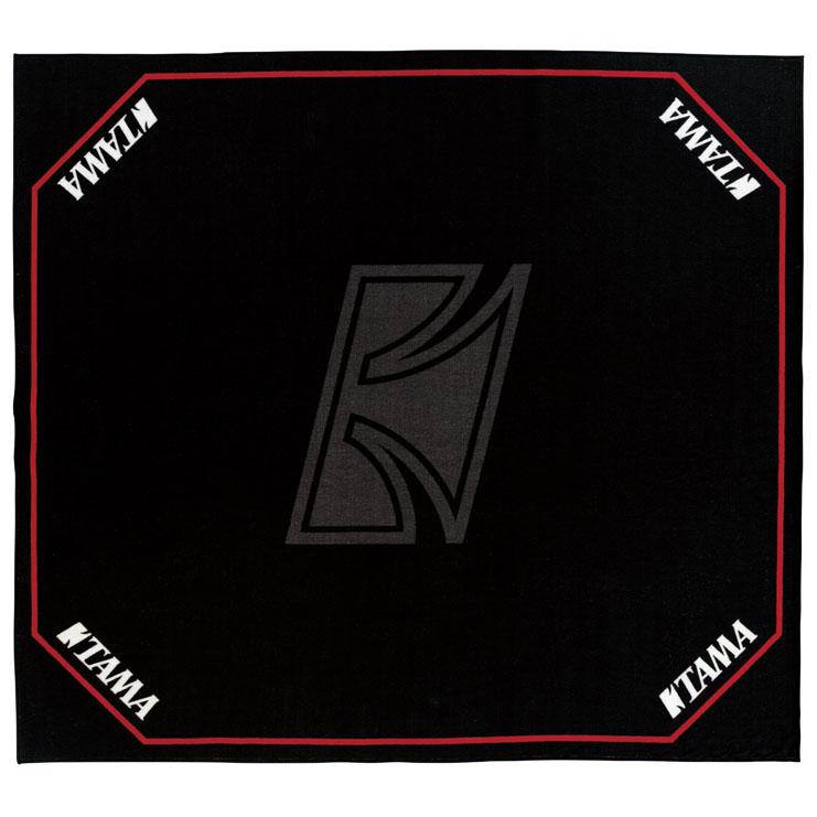 TAMA TDR-TL [ドラムセッティングカーペット ブラック with TAMAロゴ]