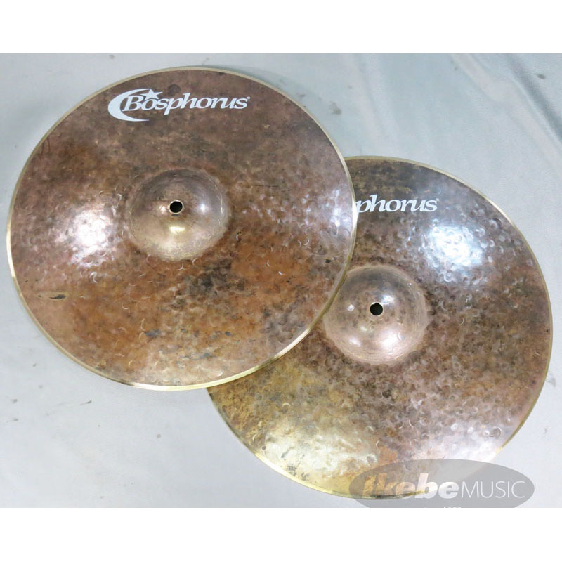 "Bosphorus Turk Series Hihat Dark 14"" Pr [Gold Back Finish] 【ドラムステーション・カスタムオーダー!】"