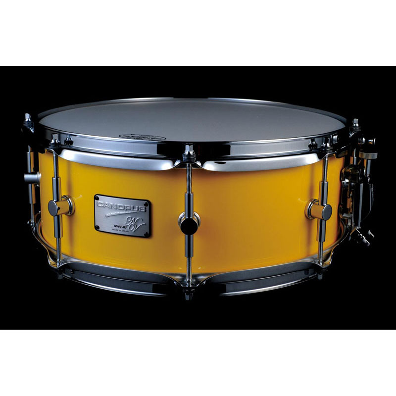 CANOPUS NV60M3S-1455:Cloudy Yellow [NEO-Vintage / NV60M3S Snare Drum]