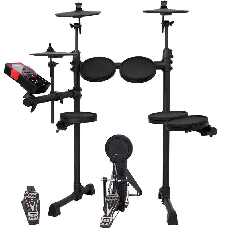 "MEDELI Digital Drum Set DD610J-DIY KIT + 拡張ドラムパット付き ""4-Toms Kit"" [DD610J-DIY KIT + DD610J-DP-SET]"