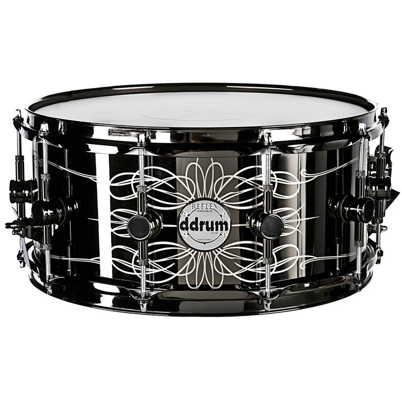 "ddrum Vintone ""The Tattooed Lady"" Steel Snare Drum 14""x6.5"""