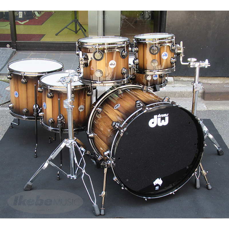 DW The Pure Tasmanian Timber Drum Kit 【2018 Limited Edition】【全世界200台 / 日本国内入荷は2セットのみ!】
