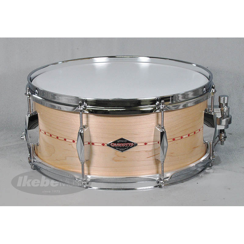 Craviotto Heritage Series Maple Solid-Shell Snare Drum 14