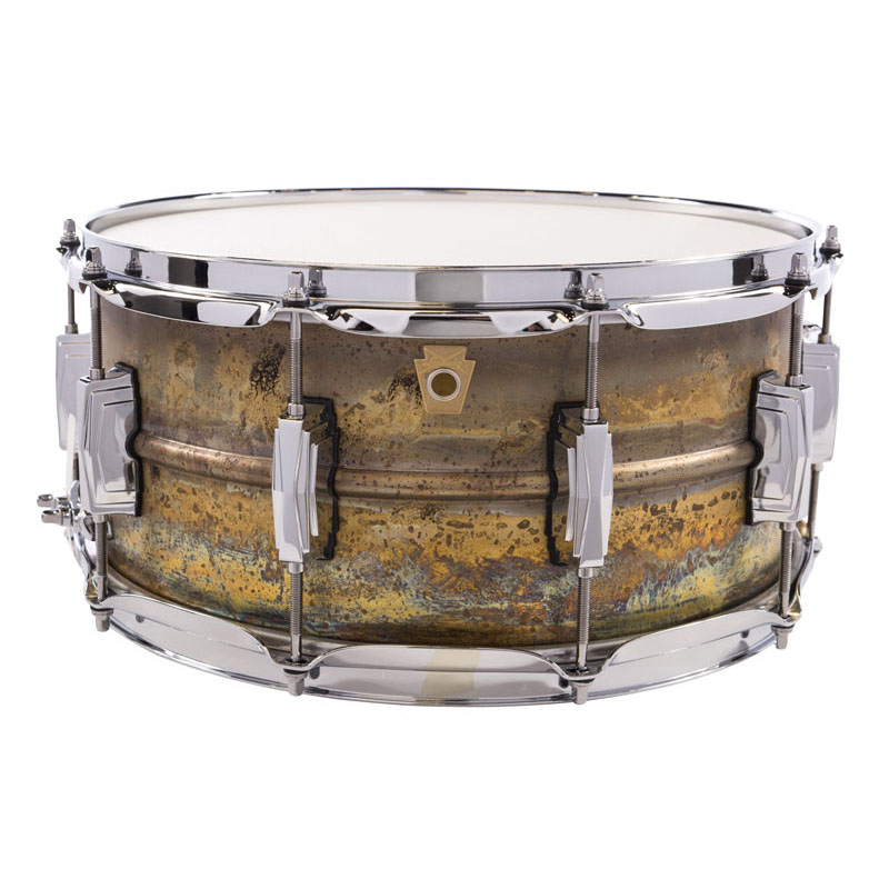 Ludwig LB464R [Raw Brass Phonic Snare Drum 14