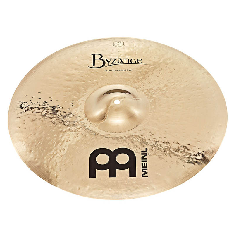MEINL B18HHC-B [Byzance Brilliant Series / Heavy Hammered Crash 18