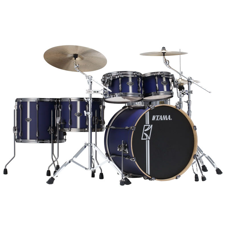 "TAMA ML52HZBN2-SBV [SUPERSTAR HYPER-DRIVE DUO KIT ~ FEATURING 14""x10"" DUO SNARE ~ / Satin Blue Vertical Stripe] 【ドラムステーション限定入荷!】"