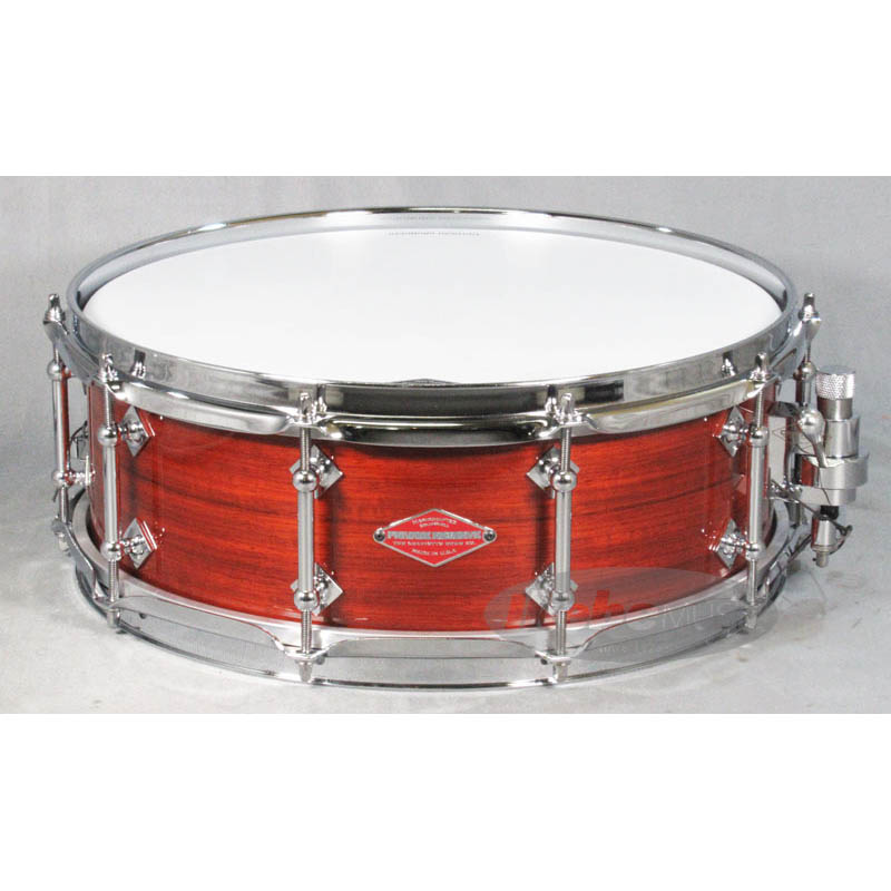 "Craviotto Padauk / Natural UV LQ Finish Solid-Shell 14""×5"" [Private Reserve Snare / Tube Lug Edition] 【店頭展示チョイキズ特価品】"