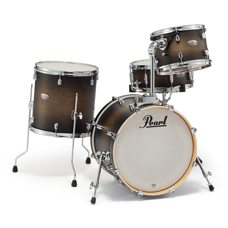 Pearl DMP984P/C #262 [Decade Maple Bop Club Kit / Satin Black Burst]