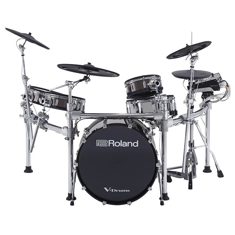 ROLAND TD-50KVX [V-Drums Kit / TD-50KV (V-Drums・Drum Sound Module & Pads)+ KD-220 (Bass Drum) + MDS-50KV (Drum Stand)] 【ikbp5】