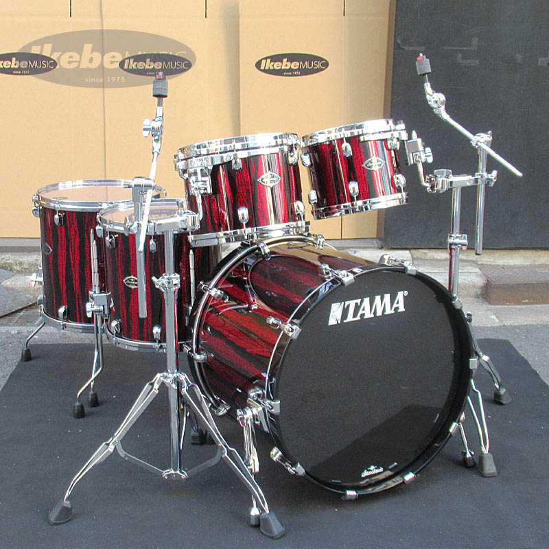 TAMA Starclassic Performer B/B 5pc Drum Set (Crimson Sky Blaze) [Made in Japan / Starclassic Series] 【HTC807W(x2)付属】 【ドラムステーション限定カラー】