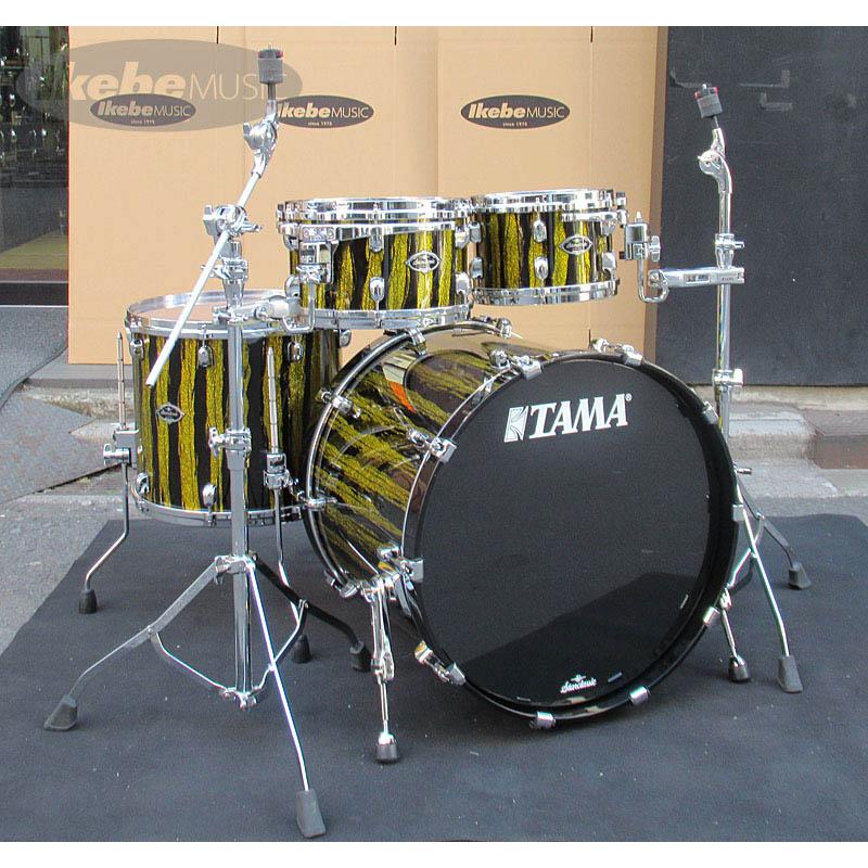 "TAMA Starclassic Performer B/B ""Hyper-Drive"" 4pc Drum Set (Golden Sky Blaze) [Made in Japan / Starclassic Series] 【MC69(x2)付属】 【ドラムステーション限定カラー】"