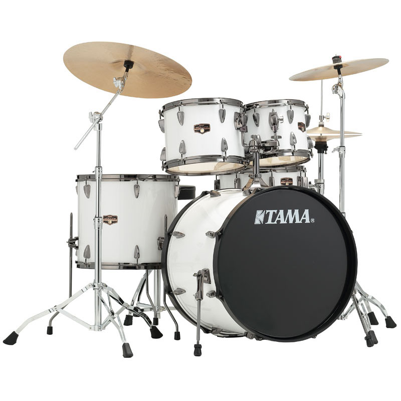 "TAMA IP52KH6HCB-SGW [IMPERIALSTAR with Black Nickel Parts ""White"" Version] 【国内ドラムステーション独占販売】"
