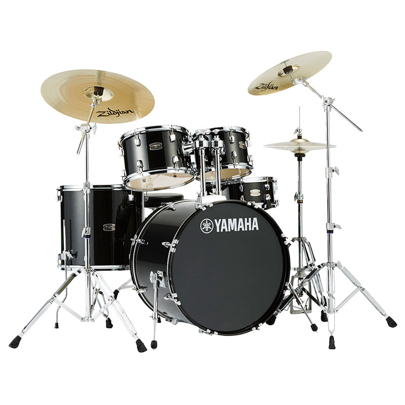 YAMAHA RDP2F5 + HW680W + DS550U + Zildjian Planet Z Box set [ライディーン (RYDEEN) ・ドラムセット / 22