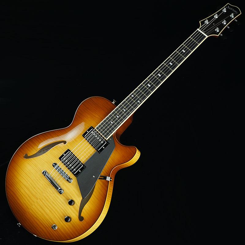 【一部予約販売】 Sadowsky Guitars Archtops Series [新仕様] Semi-Hollow Semi-Hollow Model (Caramel Burst) [新仕様] Sadowsky【SN.A1911】, 園田商事:9304c048 --- risesuper30.in