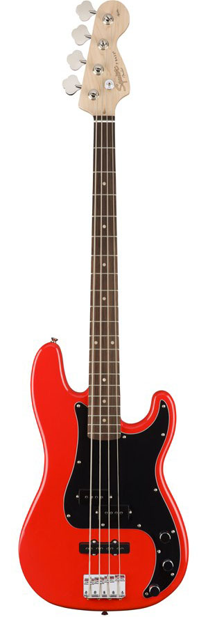 Squier by Fender Affinity Series Precision Bass PJ (Race Red) 【ikbp5】