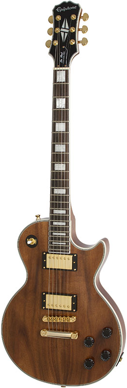 Epiphone by Gibson Limited Edition Les Paul Custom PRO KOA 【数量限定エピフォン・アクセサリーパック・プレゼント】