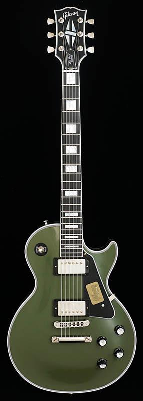 Gibson CUSTOM SHOP IKEBE Order Custom Collection Les Paul Custom VOS Olive Drab Green 【ikbp5】