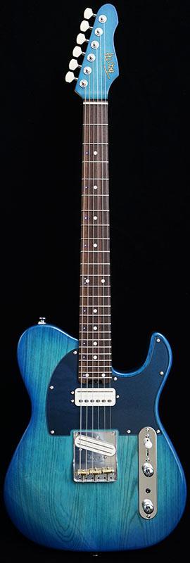 """TRUTH TTC-005 Ash """"LED"""" (Transparent Blue Shade) [24フレット仕様] 【特価】"""